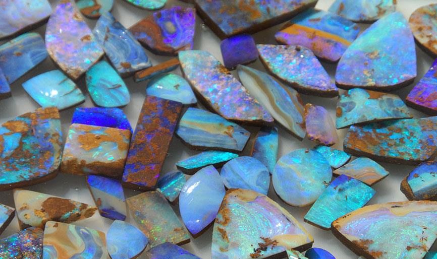 About Opals Boulder Opal Mines Australia