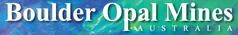 Boulder Opal Mines Australia Logo